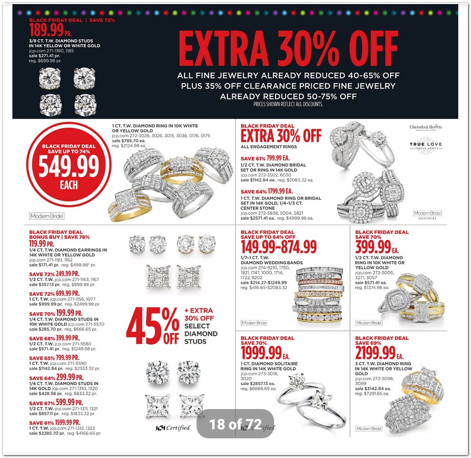 Wedding Bands Jcpenney 52 New jcpenney black friday ad