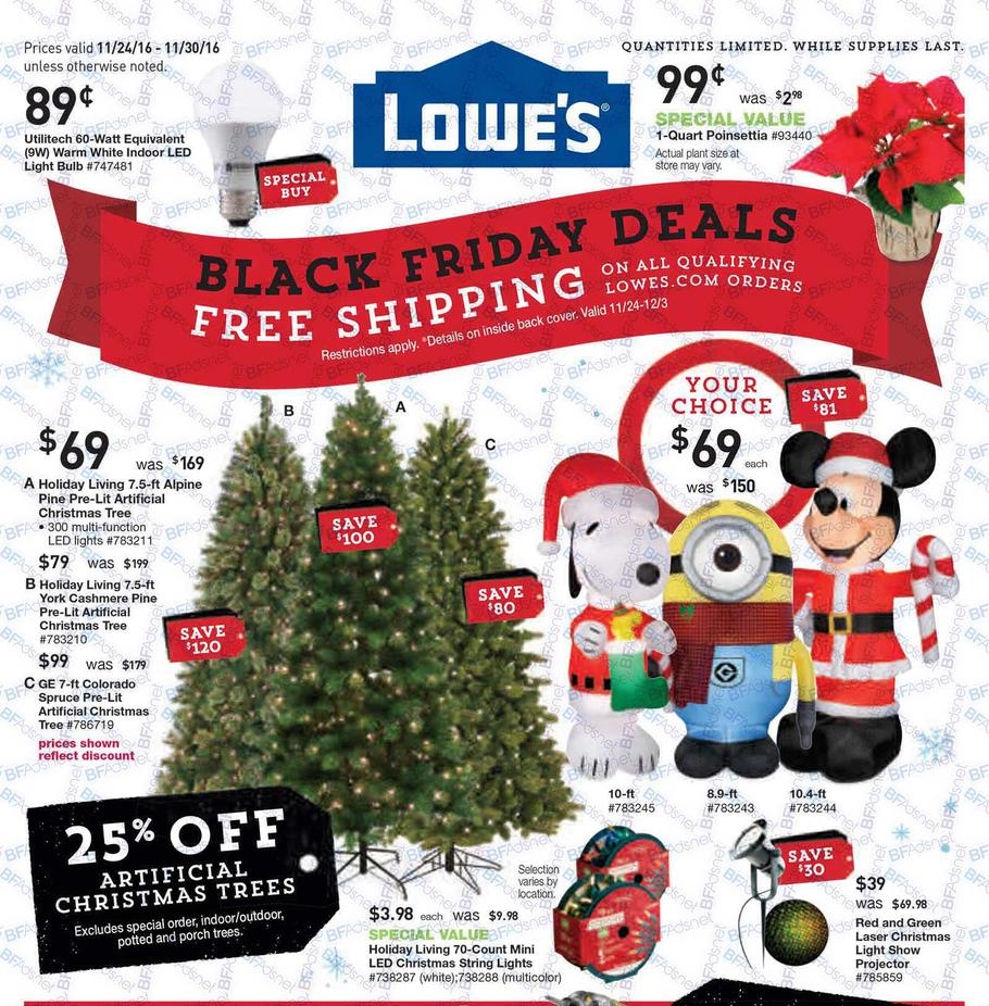 Black Friday 2016: Lowe's Ad Scan - BuyVia
