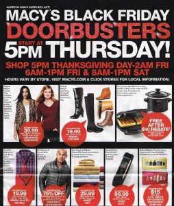 picture of Live: Macy's Black Friday Doorbusters - Big Clothing Sale