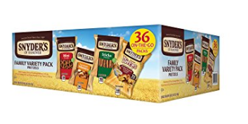 picture of Snyders of Hanover Pretzel Variety Pack 36ct Sale