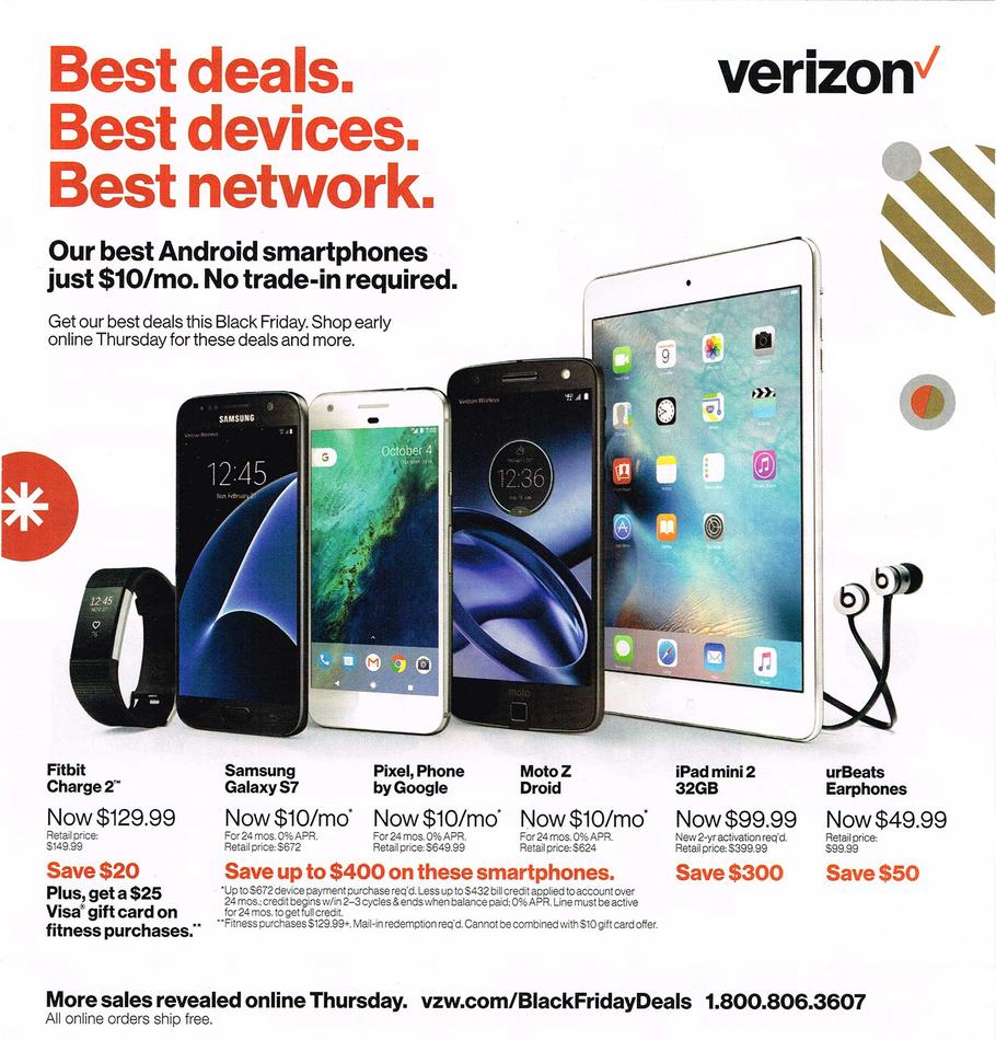 Fios deals which presently is $ savings with any fios bundle has been extended beyon Black Friday. There are many sites that have direct access to this verizon offer page. RicksCouponPicks has it on their fios deal promo page and other coupon/deal sites have it as well.