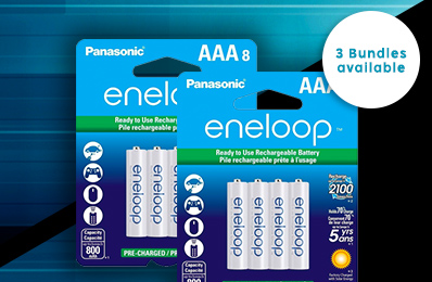 Eneloop 16 Pack AAA Ni-MH Rechargeable Battery Sale