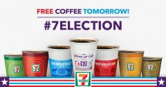 Free Coffee at 7-11