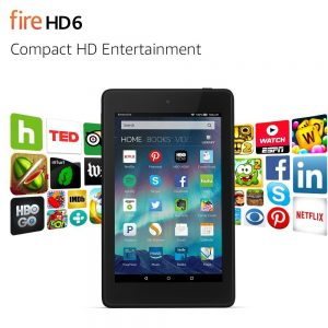 """Kindle Fire HD 6 8GB 6"""" Wi-Fi Tablet Sale"""