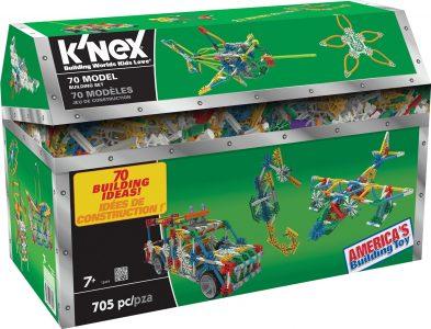 K'NEX 70 Model Building Set – 705 Piece Sale