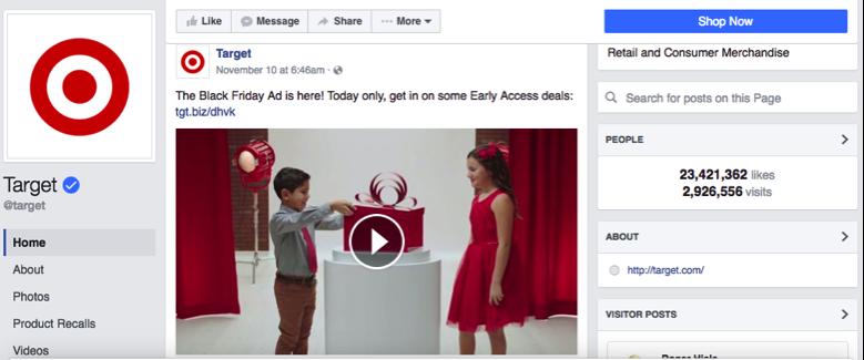 target-facebook-page