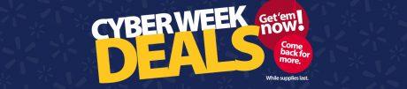 picture of Walmart CyberWeek Sale