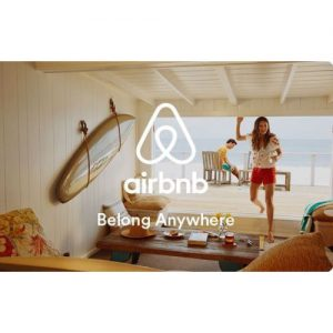 picture of $35 for a $50 Airbnb Gift Card via Email