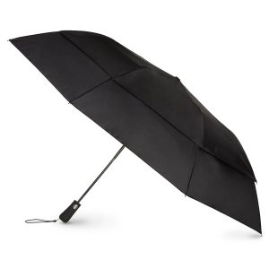 picture of Tiagogear Compact Auto Open One Handed Operation Windproof Travel Umbrella