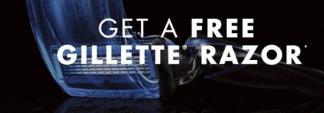 picture of Free Gillette Razor