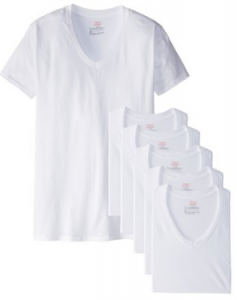 picture of Hanes Men's FreshIQ V-Neck T-Shirts (Pack of 6) Sale