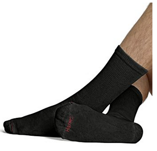 picture of Hanes Men's Ultimate Cushion Crew Socks (10-Pack) Sale
