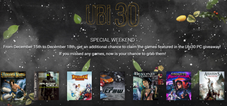 picture of Free 7 UBISoft Game PC Bundle