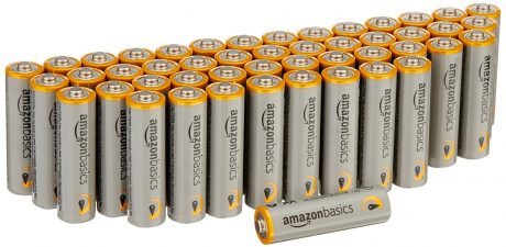 picture of AmazonBasics AAA Performance Alkaline Batteries (100-Pack) Sale