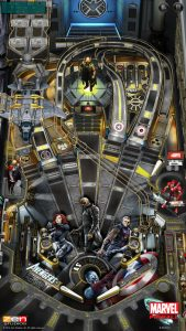 picture of Free iPhone Game: Marvel Pinball