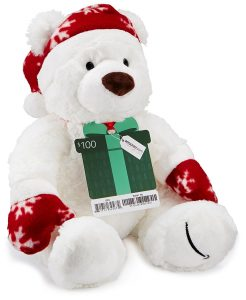 Free Teddy Bear with Amazon $100 Gift Card Purchase