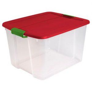 picture of Sterilite Clear Storage Tote 66-qt Sale