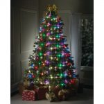 Tree Dazzler 7.5 ft. 64-Light LED Multicolor Light Set Sale