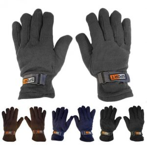 picture of 2 Pairs: Refael Collection Men's SubzEros Sport Fleece Lined Gloves