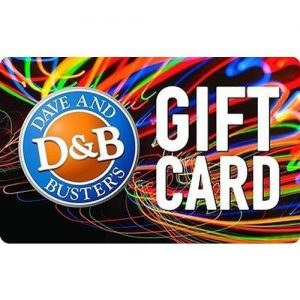 picture of $100 Dave & Busters Gift Card for $90 - Email delivery