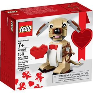 picture of LEGO Bricks Valentines Cupid Dog Sale