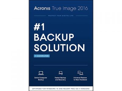 picture of Free Acronis True Image 2016 PC Backup Software Sale