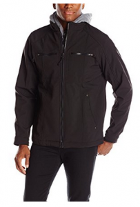 picture of Avia Men's Soft Shell with Sweatshirt Hoody
