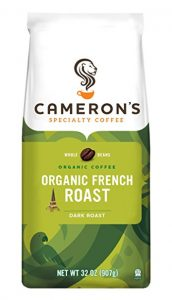 picture of Cameron's Organic Whole Bean Coffee, French Roast Sale