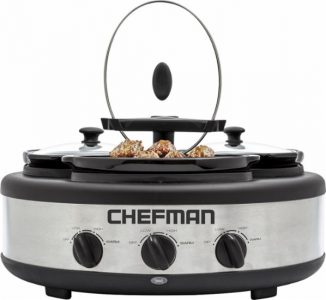 picture of Chefman - 4.5-Quart Slow Cooker Sale