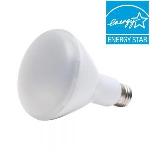 picture of EcoSmart 65W Equivalent Soft White BR30 Dimmable LED Light Bulb (4-Pack) Sale