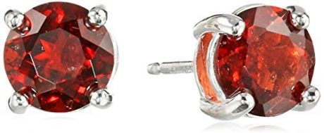picture of Free Garnet Stud Earrings with Purchase of Select Jewelry