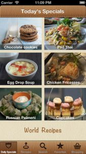 picture of Free World Recipes - Cook World Gourmet iOS App