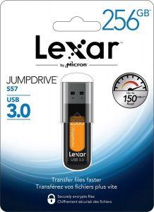 picture of Lexar 256GB S57 USB 3.0 Flash Drive Sale