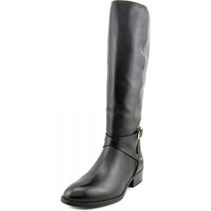 picture of Ralph Lauren Mariah Round Toe Leather Knee High Boot Sale