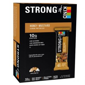picture of STRONG & KIND Protein Bars - Honey Mustard 12pk Sale