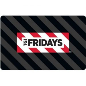 picture of TGI Friday's $25 Gift Card for $15 - Free Shipping