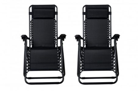 picture of 2 Zero Gravity Outdoor Patio Chairs