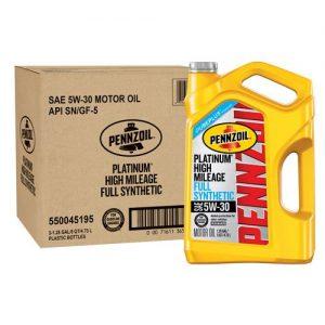 picture of Pennzoil Platinum Motor Oil 5W-30 5 Quart 3pk Sale