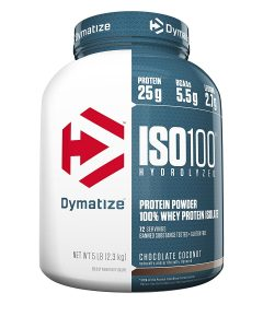 picture of Dymatize ISO 100 Chocolate Coconut 5 Pound Protein Powder Sale