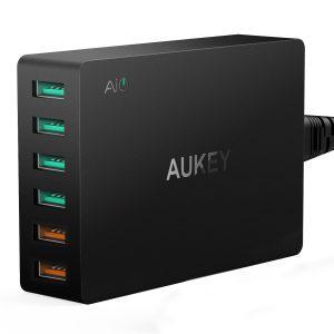 picture of AUKEY 6-Port USB Desktop Charging Station Sale