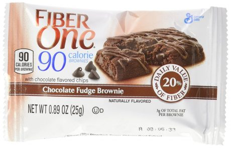 picture of Fiber One 90 Calorie Chocolate Fudge Brownies, 18-Count, 2 Pack Sale