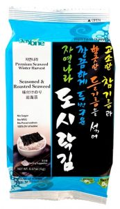 picture of Jayone Seaweed Snacks, Roasted and Lightly Salted, 24pk