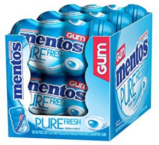 picture of Mentos Gum, Pure Fresh Mint, 50-Count (Pack of 6) Sale