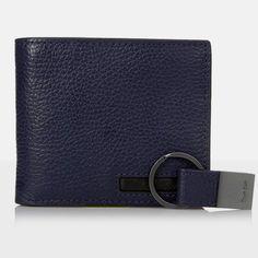picture of Calvin Klein Men's Pebble Leather Bifold Sale