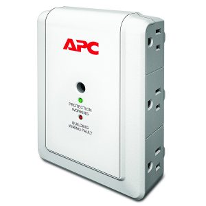 picture of APC 6-Outlet Wall Surge Protector Sale