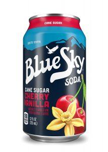 picture of Blue Sky Cane Sugar Soda Cherry Vanilla 24pk