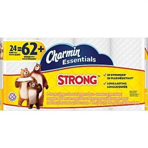 picture of Charmin Essentials Strong Toilet Paper 24 Giant Rolls