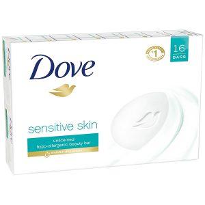 picture of Dove Beauty Bar, Sensitive Skin 4 oz, 16 Bars Sale