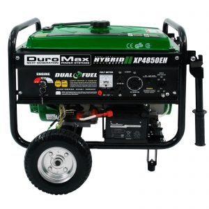 picture of DuroMax XP4850EH Hybrid Portable Dual Fuel Generator