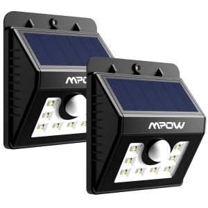 picture of Mpow Solar Lights, 2-Pack LED Motion Sensor Wall Light Sale